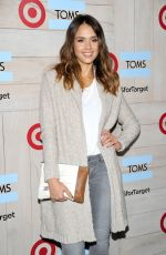 JESSICA ALBA at Toms for Target Launch Event in Culver City