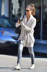 JESSICA ALBA Out and About in Beverly Hills 0211