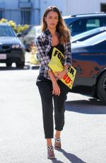 JESSICA ALBA Out and About in Brentwood 0711