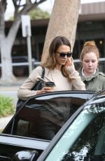 JESSICA ALBA Out and About in Brentwood 3110