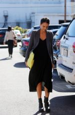 JESSICA ALBA Out and About in Santa Monica 0511