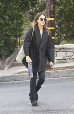 JESSICA ALBA Out and About in Santa Monica 1411