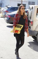 JESSICA ALBA Out Shopping in Santa Monica 0611
