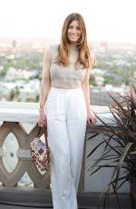 JESSICA BIEL at Tiffany & co. Bash in Hollywood
