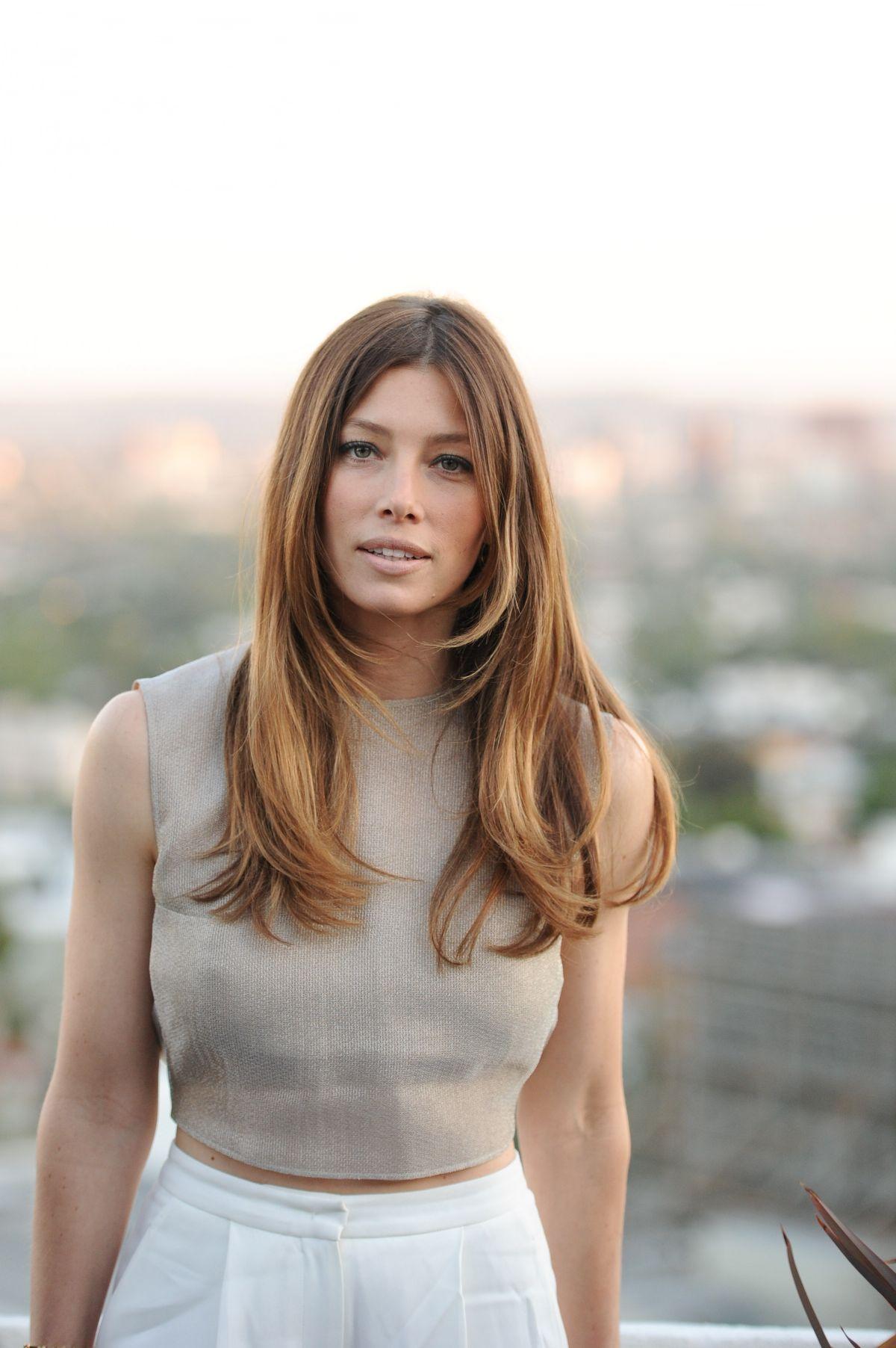 JESSICA BIEL at Tiffany & co. Bash in Hollywood - HawtCelebs