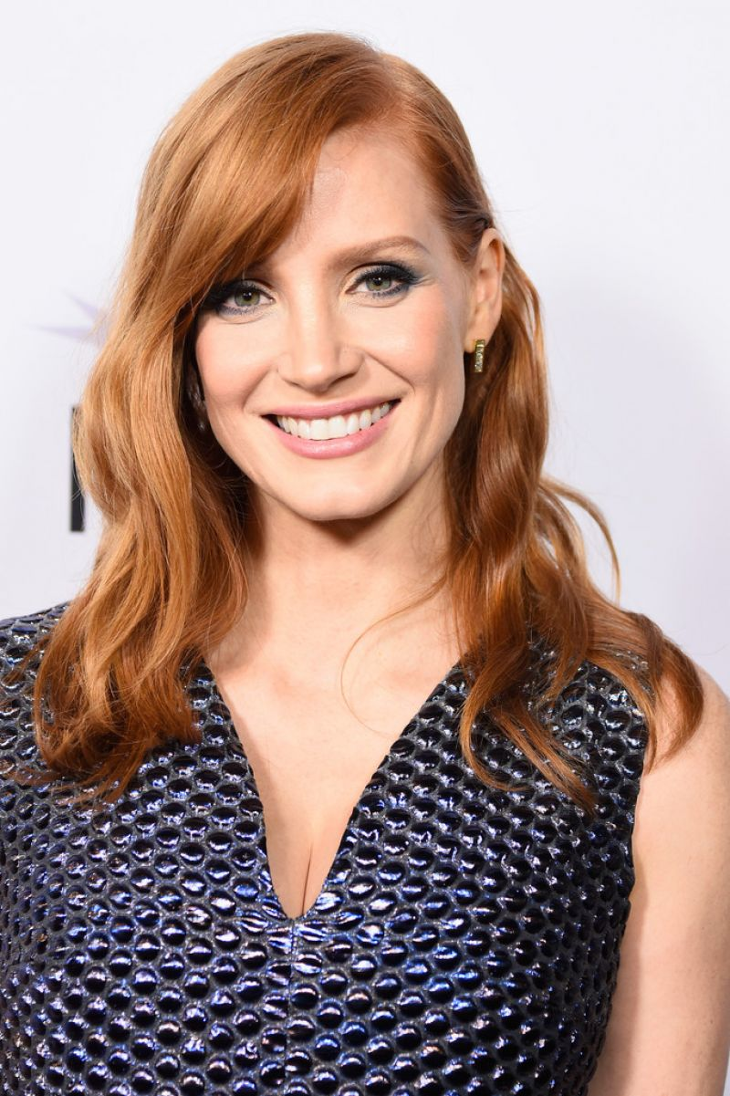 JESSICA CHASTAIN at A Most Jessica Chastain