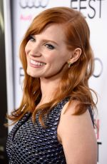 JESSICA CHASTAIN at A Most Violent Year Premiere in Hollywood