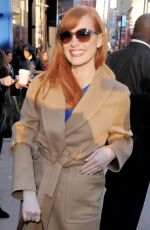 JESSICA CHASTAIN at Good Morning America in New York 0311
