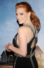 JESSICA CHASTAIN at Interstellar Premiere in New York