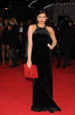 JESSICA WRIGHT at The Hunger Games: Mockingjay Part 1 Premiere in London