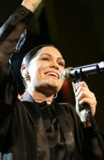 JESSIE J Performs at Topshop Topman Opening Dinner in New York