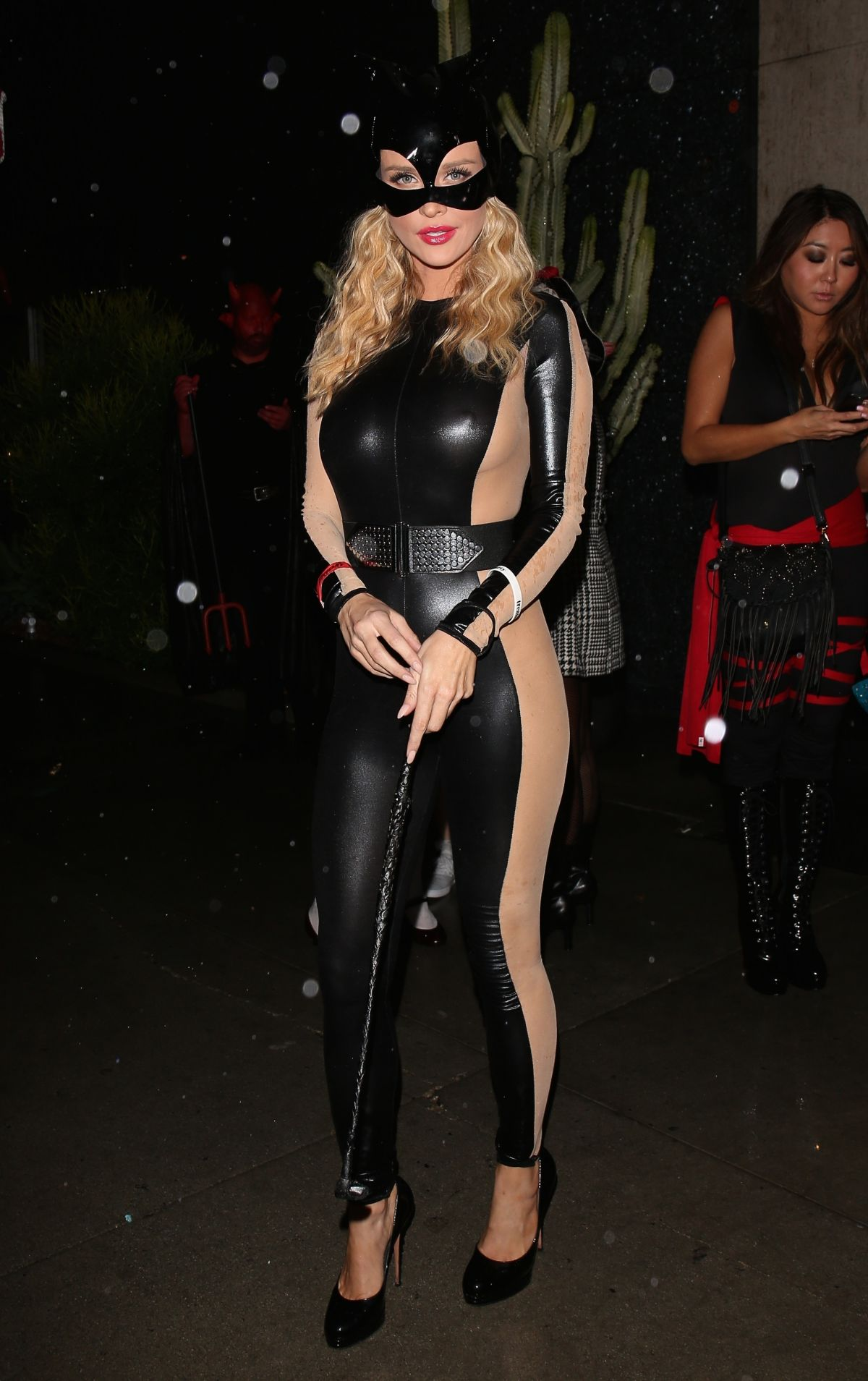JOANNA KRUPA at a Halloween Party in West Hollywood - HawtCelebs ...