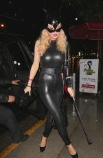 JOANNA KRUPA at a Halloween Party in West Hollywood
