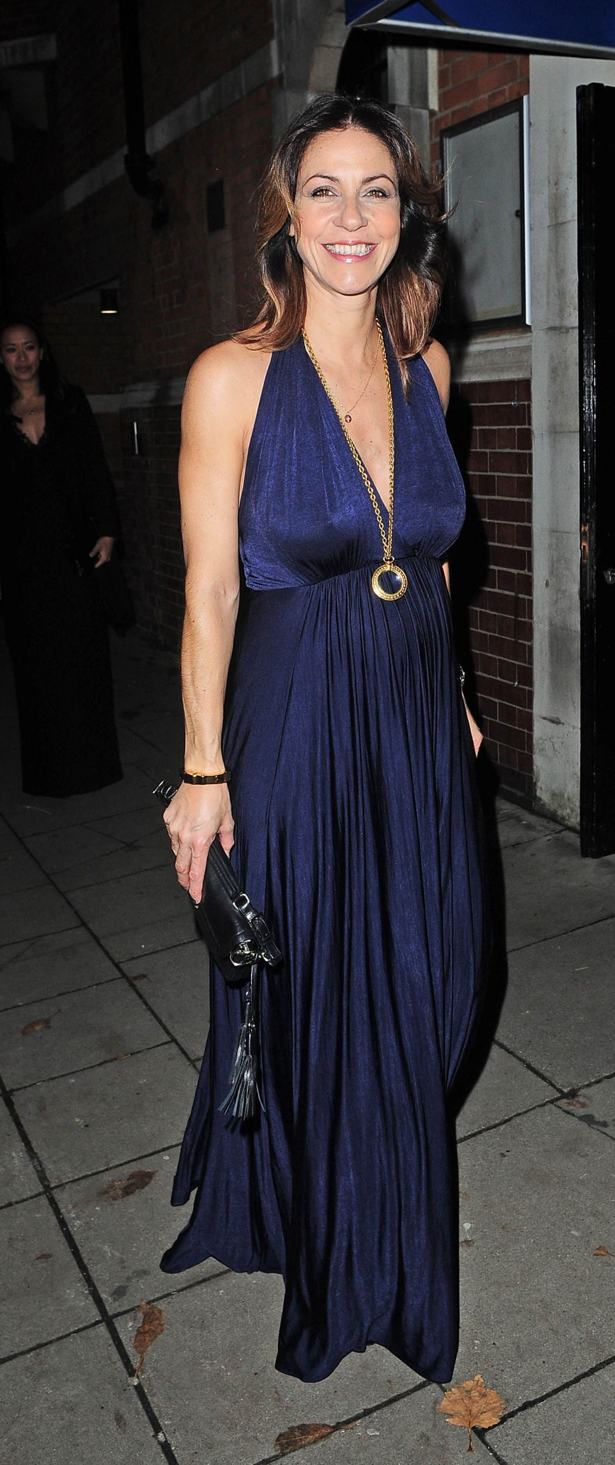 JULIA BRADBURY Arrives at Katie Piper Foundation Ball in London