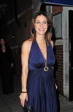 JULIA BRADBURY Arrives at Katie Piper Foundation Ball in London
