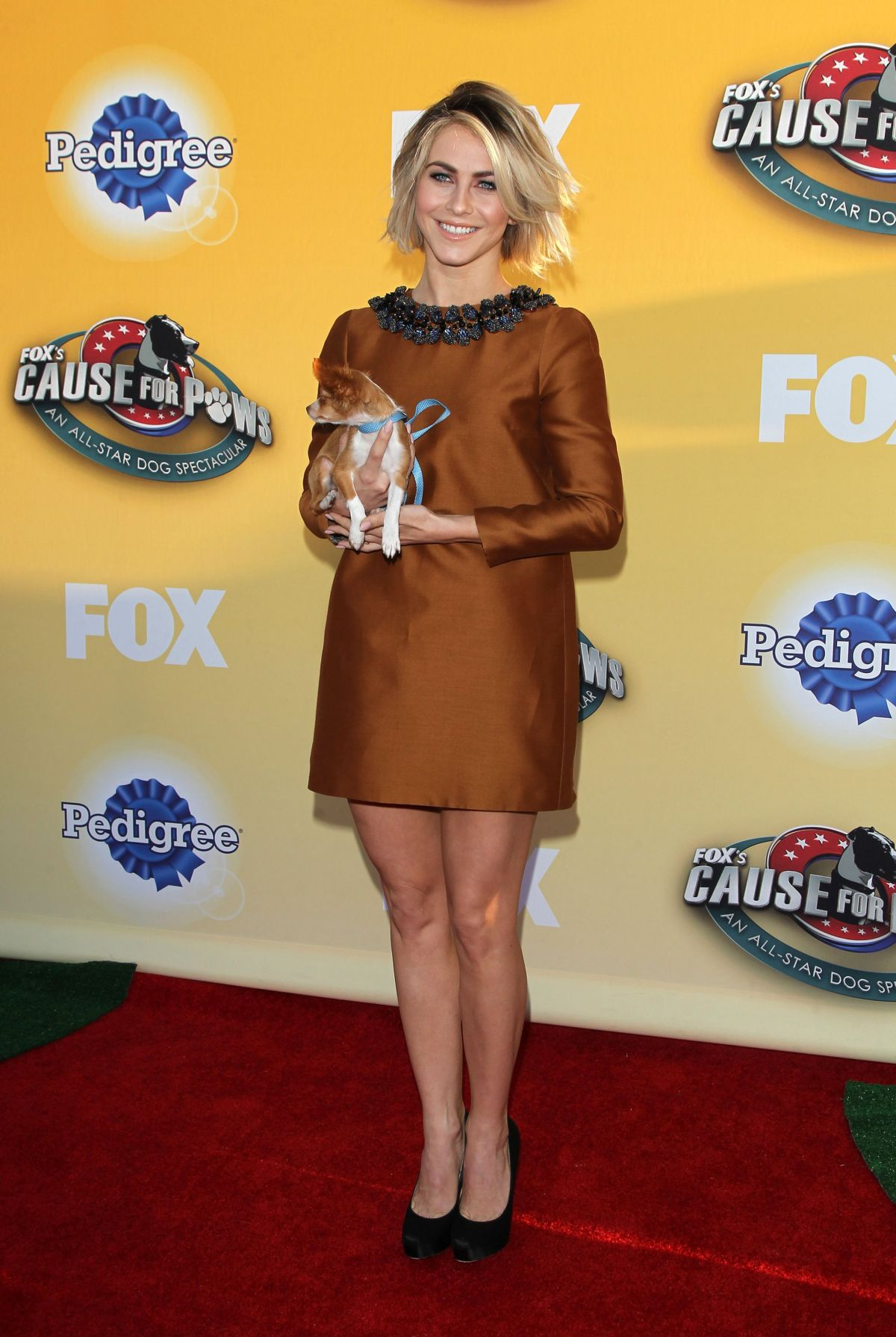 JULIANNE HOUGH at Fox's Cause for Pawns an All-Star Dog Event in Santa Monica