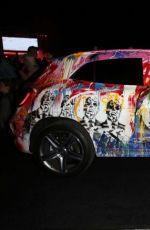 JULIANNE HOUGH at Mercedes Benz Evolution Tour in New York