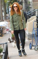 JULIANNE HOUGH Out for Morning Coffee in New York