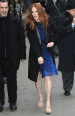 JULIANNE MOORE at Good Morning America in New York