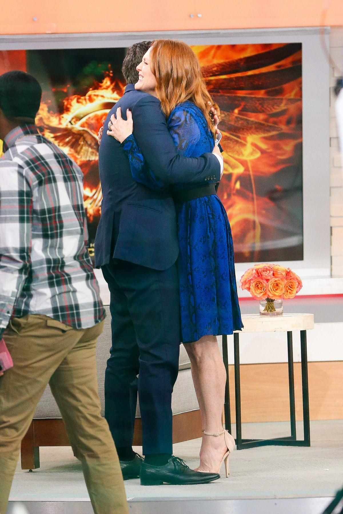 Good Morning America Los Angeles : Julianne moore at good morning america in new york