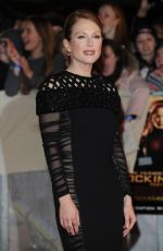 JULIANNE MOORE at The Hunger Games: Mockingjay Part 1 Premiere in London