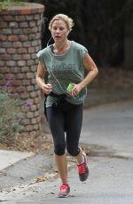 JULIE BOWEN Out Jogging in Los Angeles