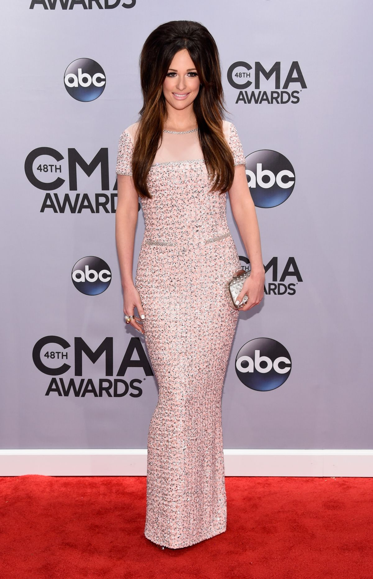 KACEY MUSGRAVES at 2014 CMA Awards in Nashville