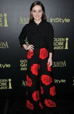KAITLYN DEVER at Hfpa & Instyle Celebrate 2015 Golden Globe Award Season