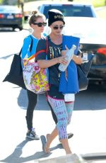 KALEY CUOCO Leaves a Yoga Class in Studio City 2411