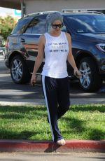 KALEY CUOCO Leaves Yoga Class in Los Angeles