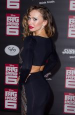 KARINA SMIRNOFF at Big Hero 6 Premiere in Hollywood