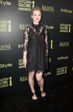 KARINE VANASSE at Hfpa & Instyle Celebrate 2015 Golden Globe Award Season