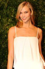 KARLIE KLOSS at 2014 Cfda/Vogue Fashion Fund Awards in New York