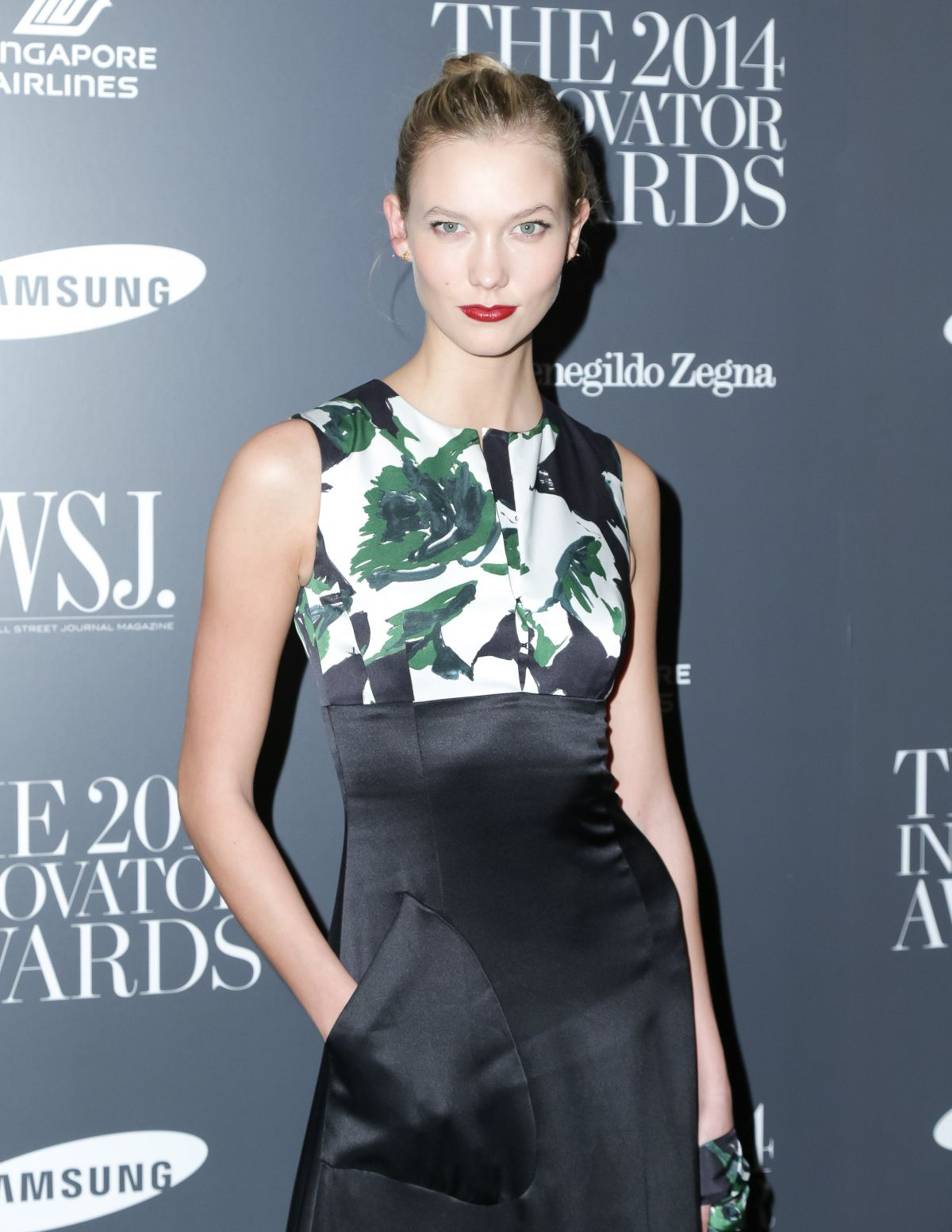 KARLIE KLOSS at Innovator of the Year Awards in New York