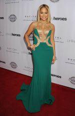 KAT DELUNA at Unlikely Heroes Awards Gala in Los Angeles