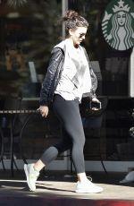 KATE BECKINSALE Arrives at Starbucks in Beverly Hills