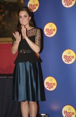 KATE MIDDLETON  at Place2Be Wellbeing In Schools Awards Reception at Kensington Palace in London