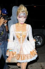 KATE UPTON at Casamigos Tequila Halloween Party in Beverly Hills