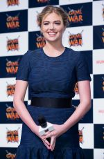 KATE UPTON at Game of War: Fire Age Promotion in Busan
