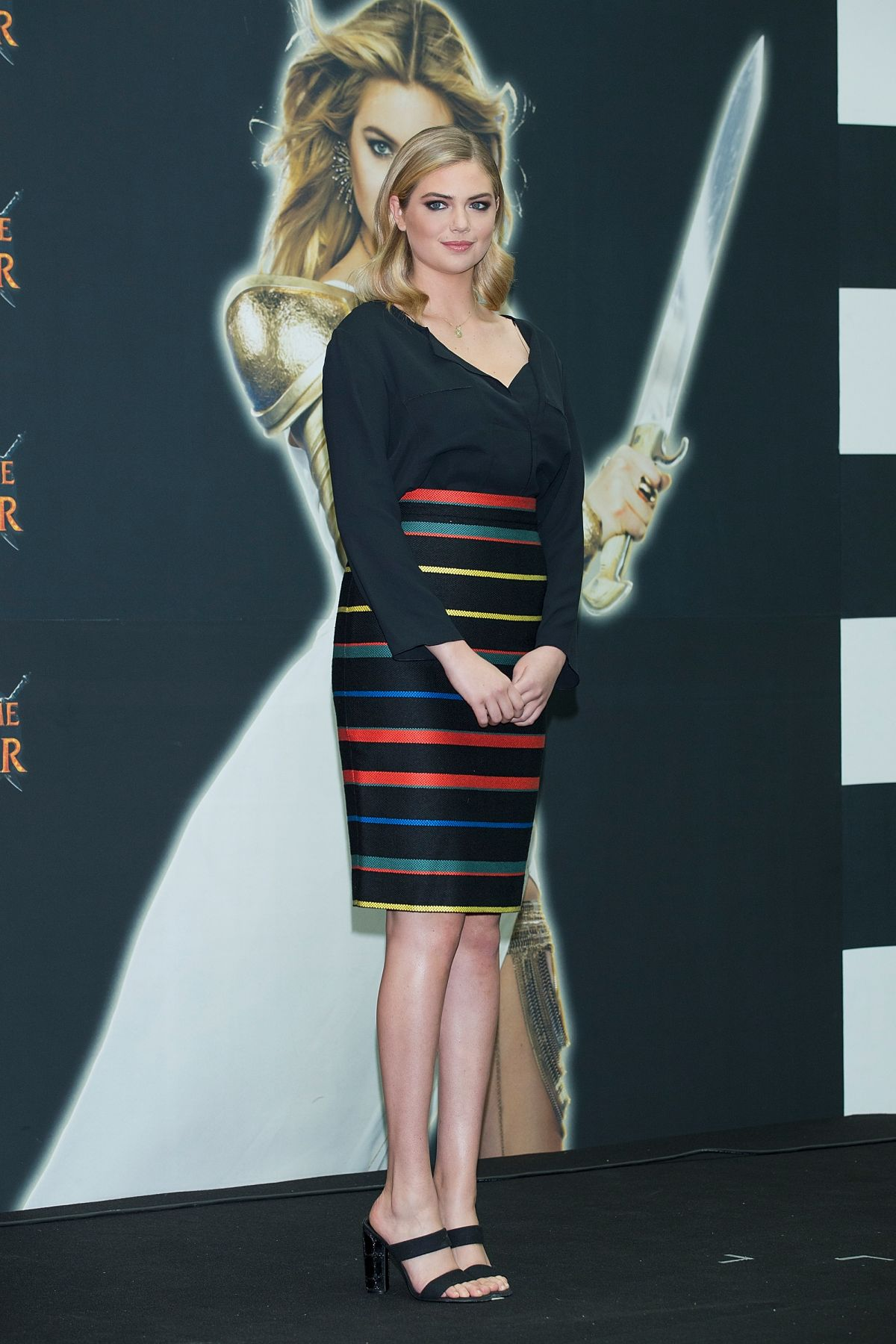 Kate upton at game of war fire age promotion in seoul 2 jpg