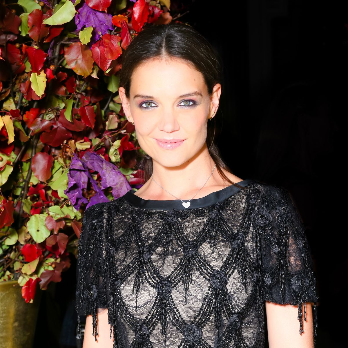 KATIE HOLMES at Midnight Supper at St. Regis Hotel in New York