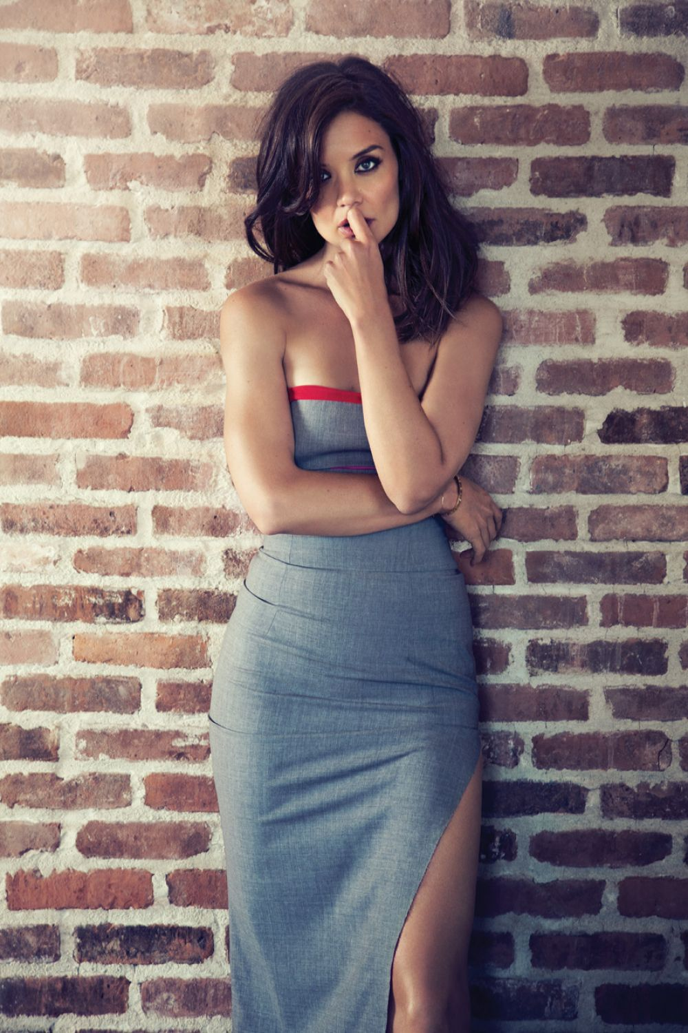 KATIE HOLMES - Randall Slavin Photoshoot for New York Moves ...