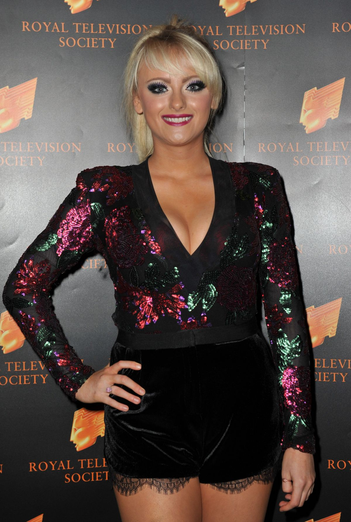 KATIE MCGLYNN at RTS Awards 2015 in Manchester