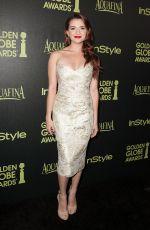KATIE STEVENS at Hfpa & Instyle Celebrate 2015 Golden Globe Award Season