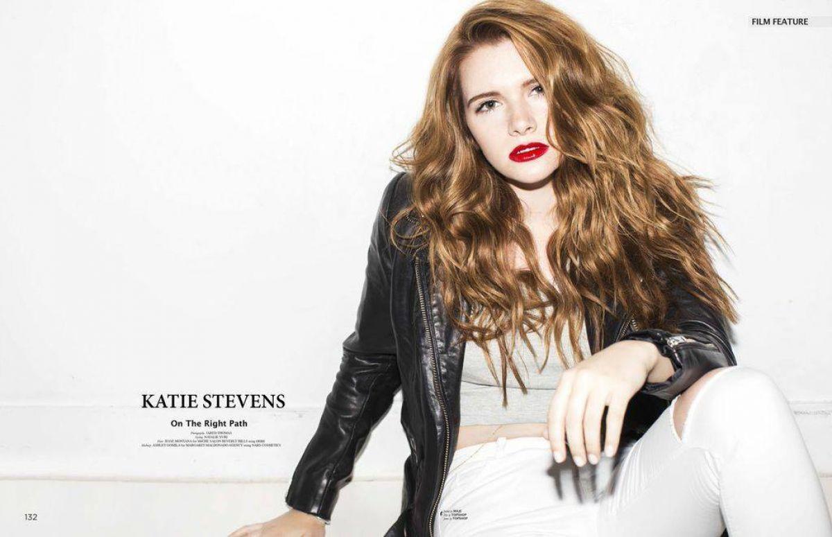 KATIE STEVENS in Astonish Magazine