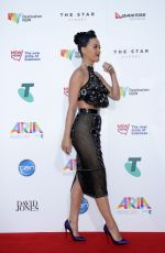 KATY PERRY at 2014 Aria Awards in Sydney