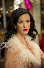 KATY PERRY in Dressing Room at Victoria Secret Backstage