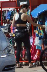 KATY PERRY in Leggings Out and About in Perth 0811