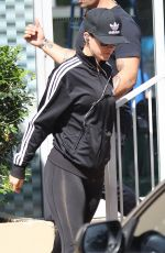 KATY PERRY in Spandex Out and About in Sydney