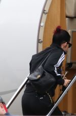 KATY PERRY Leaves Sydney in Private Jet